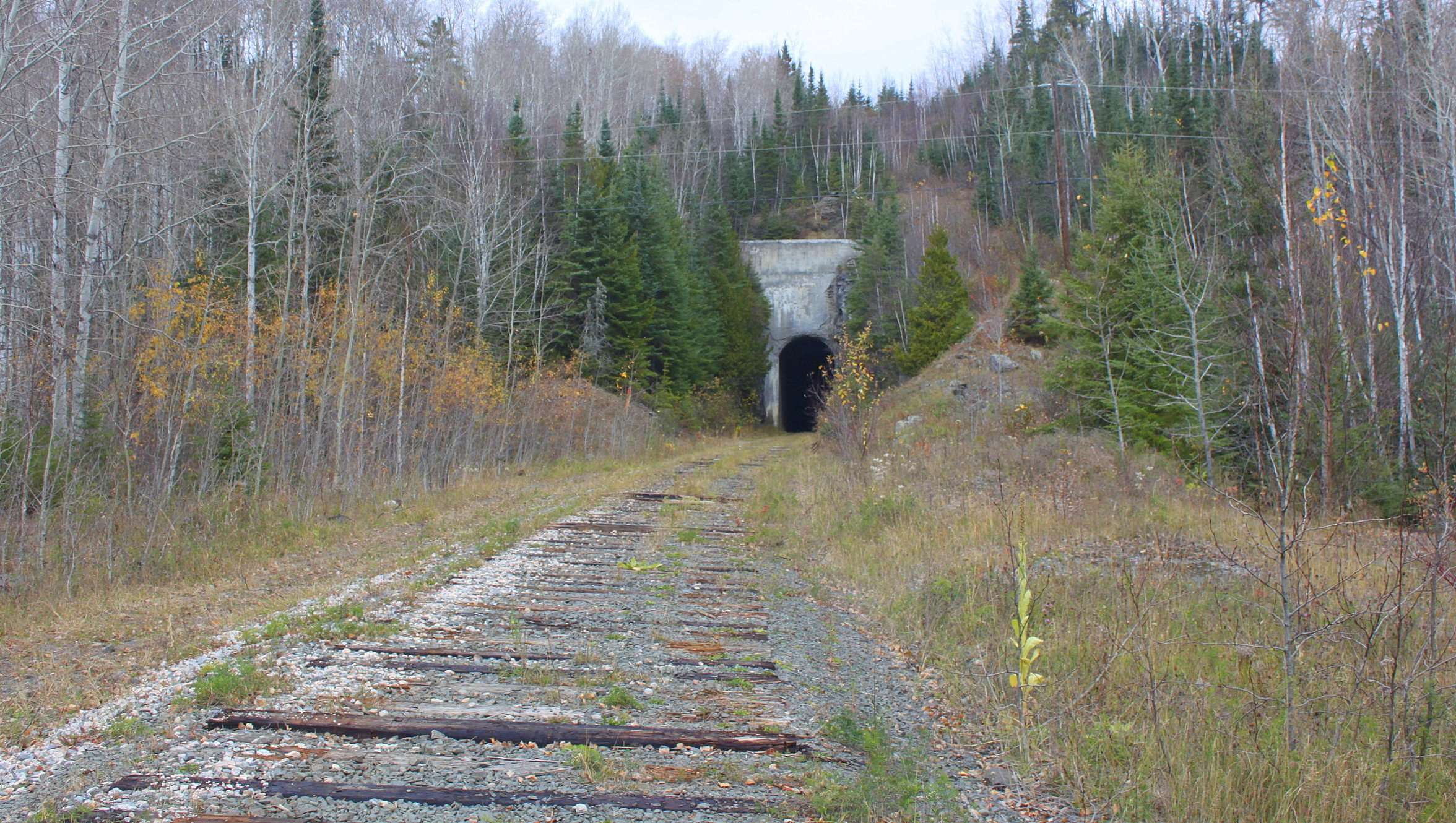Jumbo's Cove Train Tunnel