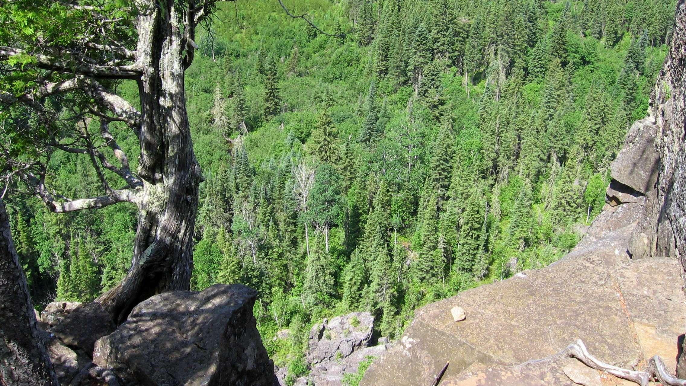 Claghorn Observer Rock Trail