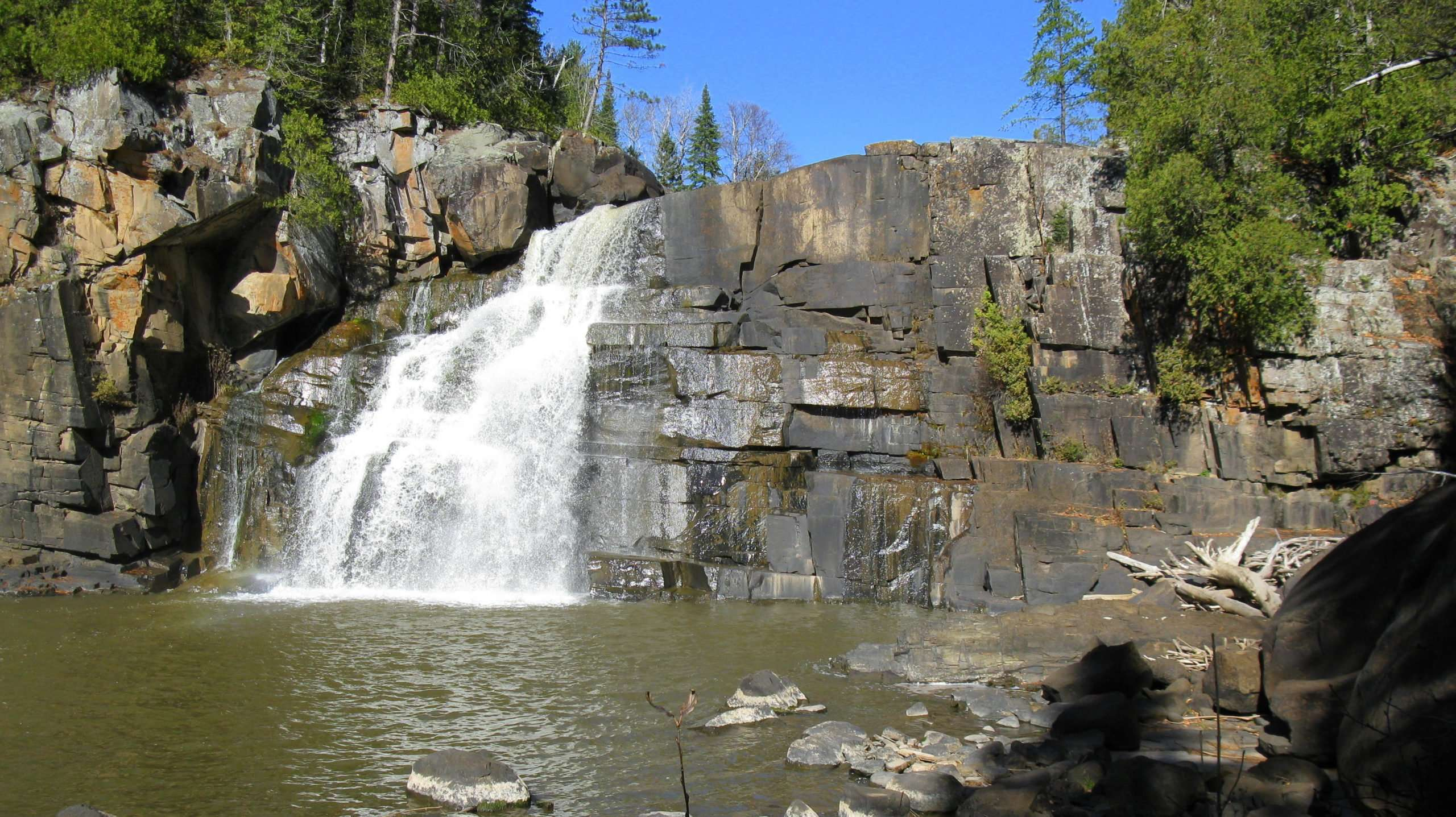 Arrow River Falls Superior Hiking